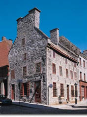 Old Montreal house
