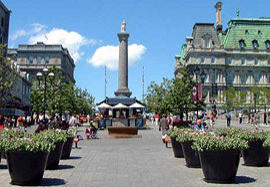 Old Montreal Place Jacques Cartier